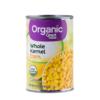 Great Value Organic Whole Kernel Corn, 15
