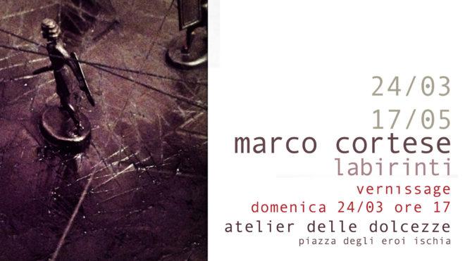 Vernissage mostra Marco Cortese - Labirinti