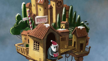 """Vernissage """"On the Road with Santa"""" by Matthew Watkins"""
