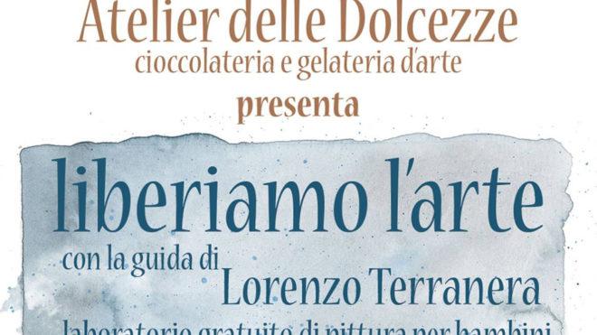 Laboratorio di pittura per bambini con Lorenzo Terranera