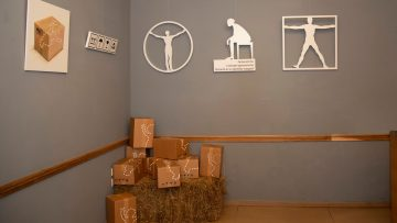Felix Policastro & Paolo May Vernissage all'Atelier delle Dolcezze, dove l'arte è di casa.